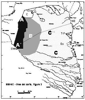 map aquifer Irenda Chaco
