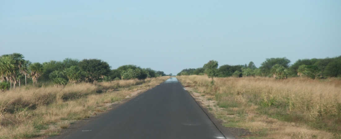 road in Chaco